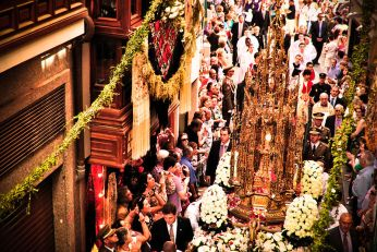 Processie van het Corpus Christi in Toledo.