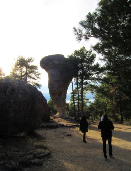 Parque Encantada, een geërodeerd stroomgebied in Cuenca.