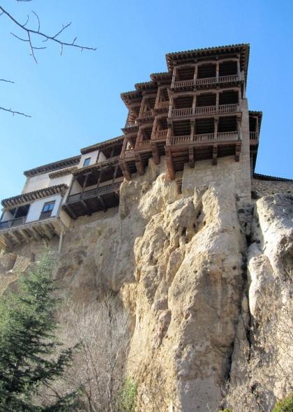 De hangende woningen van Cuenca.