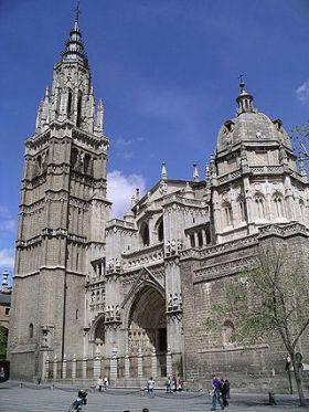 De gotische kathedaal van Toledo.