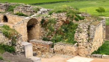 Spaanse verhalen, Castilla-la Mancha, Archeologisch park te Segobrica.