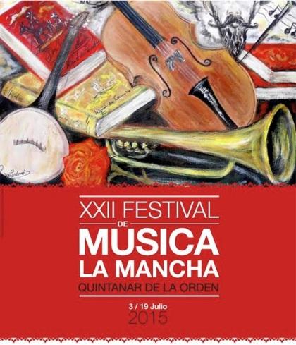 Poster Musica la Mancha.