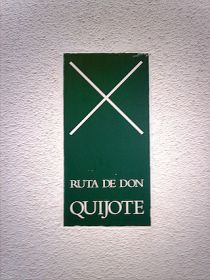 De routebeschrijving van Don Quijote de la Mancha.