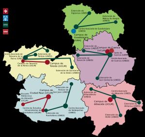 De Universiteiten van Castilla-La Mancha