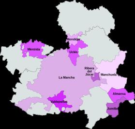 Wijnen DO van Castilla-La Mancha.
