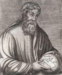 Strabo volgens een gravure uit de 16e eeuw.