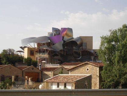 Bodegas in la Rioja Alavesa.