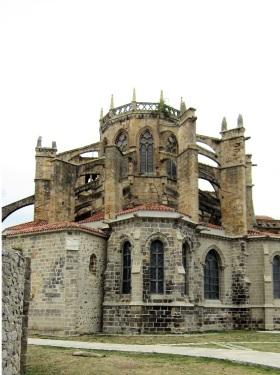 Kerk van Santa Maria Assunte van Castro-Urdiales, een symbool van de welvaart van de vissersdorpen in de Tweede Middeleeuwen.