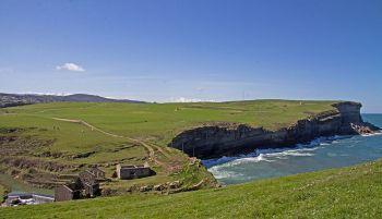 Kliffen van Toñanes.