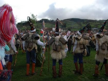 Feest van La Vijanera in Silió.