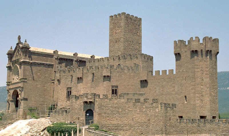 Het kasteel van Javier.