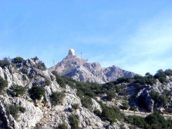 De Puig Major en de Seirra de Tramuntane, de hoogste berg op het eiland.