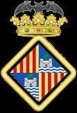 Het wapen van de stad Palma.