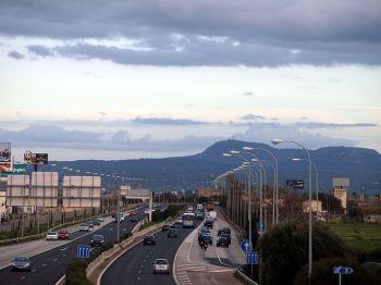 De weg richting Levante (Ma-19).