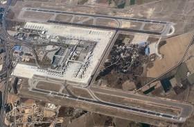 De luchthaven van Palma.