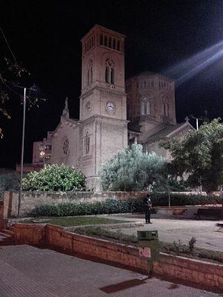 Kerk van San Catalina.