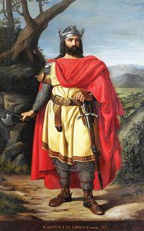 Alfonso I de Aasturias.