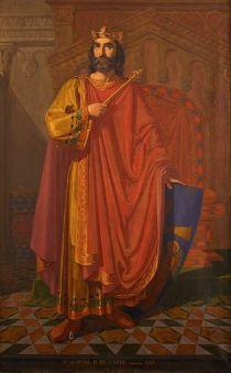 Alfonso II el Casto.