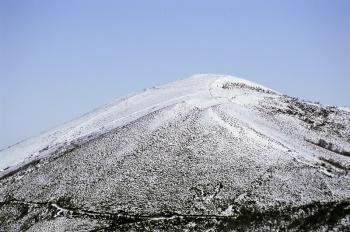 Uitzicht op de vindplaats van de berg Curiechos, la Carisa