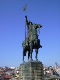 Vimara Pérez, Asturische edelman en stichter van het graafschap Portucalense, dat later uit zal groeien tot het Koninkrijk Portugal.