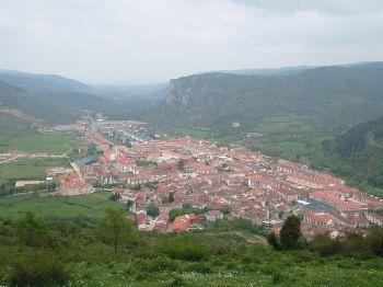 Vallei van de rivier Oja, Ezcaray.