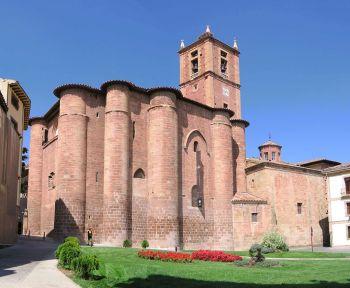 Klooster van Santa María de Real in Nájera.