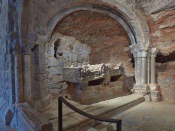 Cenotaaf van San Millán, 12e eeuw, Klooster van San Millán van Suso.