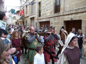 Middeleeuwse dagen in Briones (Jornadas Mediavales).