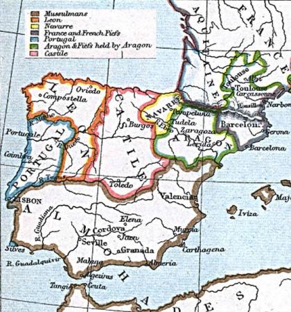 Spanje rond 1210