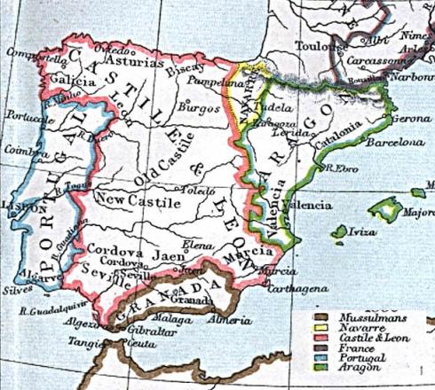 Spanje rond 1360