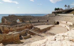 Afbeelding, amfitheater Tarraco.