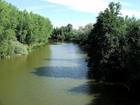 foto van de rivier de Duero.