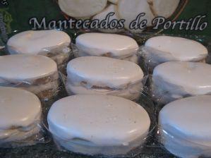 Foto met afbeelding van mantecado (koeken) van Portillo.
