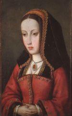 Portret van Juana I de Castilla.
