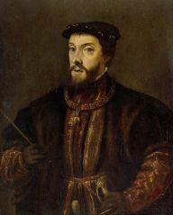 Portret van Keizer Karel V van het Heilige Roomse Rijk