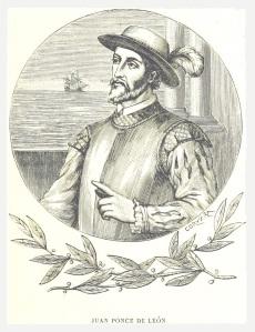 Ets van Juan Ponce de León, ontdekker van Florida.
